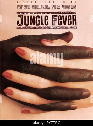 Original film title: JUNGLE FEVER. English title: JUNGLE FEVER. Year: 1991. Director: SPIKE LEE. Credit: UNIVERSAL PICTURES / Album - Stock Photo