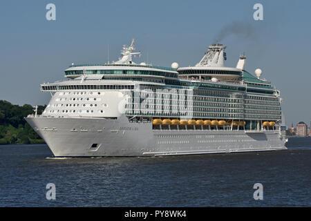Navigator of the Seas - Stock Photo