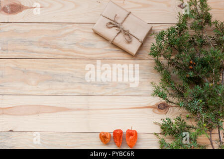 Christmas background Christmas tree and gifts z - Stock Photo