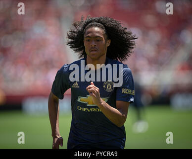 Manchester United Youth Player Tahith Chong - Stock Photo