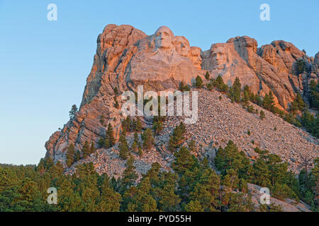 Mount Rushmore sculptures of Four United States Presidents