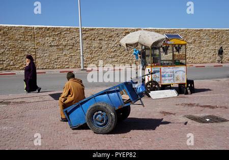 Streetlife in Essaouira, Morocco, Africa