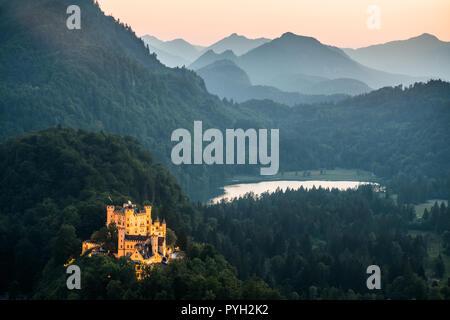 Hohenschwangau, Germany, Europe. - Stock Photo