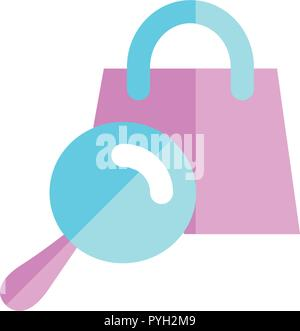 Search Icon Template Vector Sign Design - Stock Photo