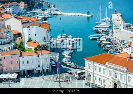Yatching port. - Stock Photo