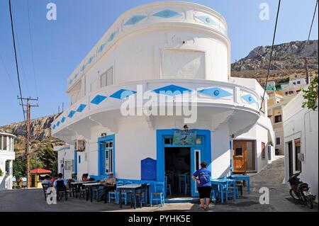 Greece, Karpathos mountain village Menetes - Stock Photo