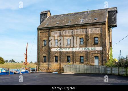 Oyster Bay House,Faversham Creek,Faversham,Kent,England,UK - Stock Photo