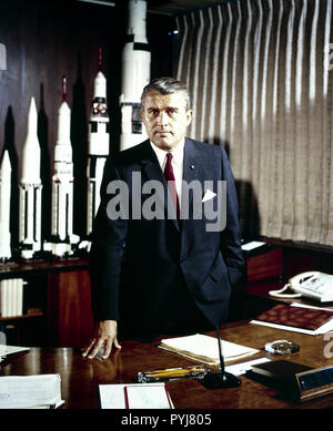 Dr. von Braun became Director of the NASA Marshall Space Flight Center (possibly on July 1, 1960) - Stock Photo