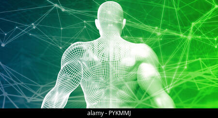 Biomedical Science as Biomedicine Research and Development - Stock Photo