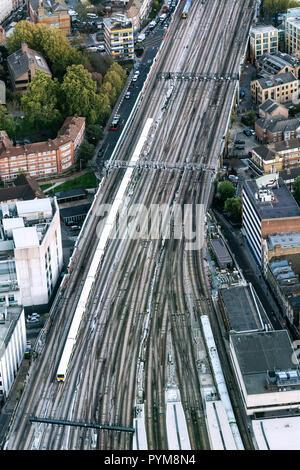 Network Rail London - Stock Photo