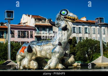 Mamac Nice Cote D´azur France - Stock Photo