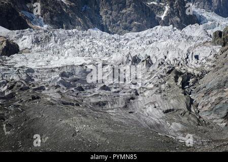 Caucasus mountain autumn landscape from the Svaneti region in Georgia