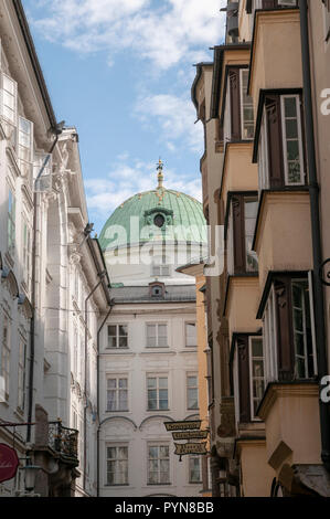 Innsbruck, Austria, Hofgasse Street - Stock Photo
