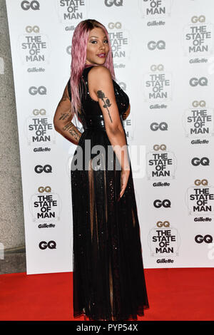London, UK. 29th Oct, 2018. Arrivers at GQ 30th Anniversary celebration at Sushisamba, The Market, Convent Garden on 29 October 2018. Credit: Picture Capital/Alamy Live News - Stock Photo