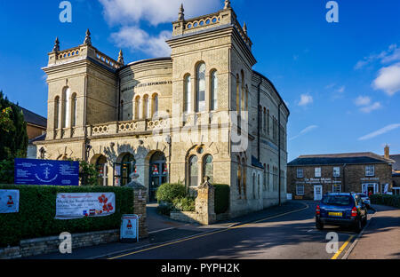 Water Lane United Reform Church in Bishop's Stortford, Hertfordshire, UK on 25 October 2018 - Stock Photo