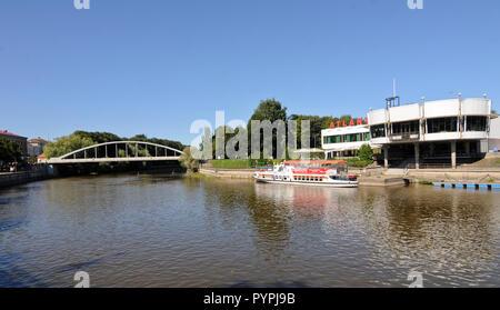 Emajogi river, Tartu, Estonia - Stock Photo