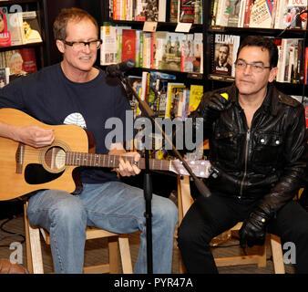 Jon Moss with Sebastian Wocker - Stock Photo