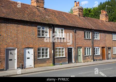 Chapel Street, Marlow, Buckinghamshire, England - Stock Photo