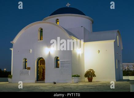 The multi Denominational Church of St. Nicholas, Paphos, Cyprus - Stock Photo
