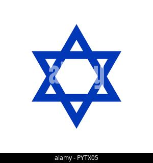 Star of David, Icon  - Stock Photo