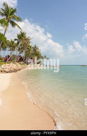 Hin Kong beach, Koh Phangan, Thailand. - Stock Photo