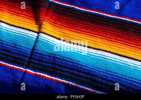 Mexican blanket at Old Town, San Diego, California. - Stock Photo