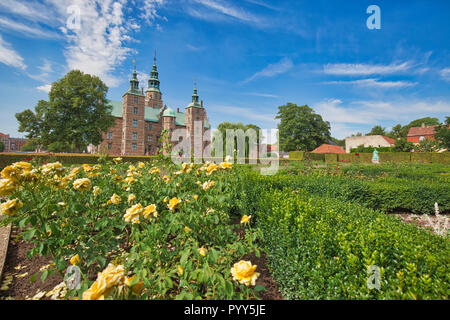 King Garden, the oldest and most visited park in Copenhagen, Denmark-located near Rosenborg Palace - Stock Photo
