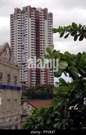 Marathon building, Lower Parel, Mumbai, Maharashtra, India, Asia - Stock Photo
