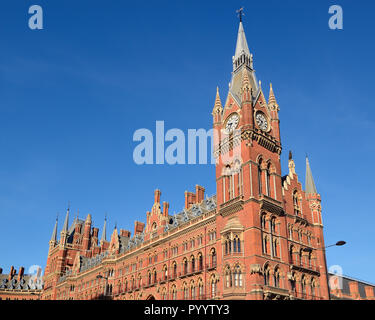 St Pancras Station, London, England, United Kingdom - Stock Photo