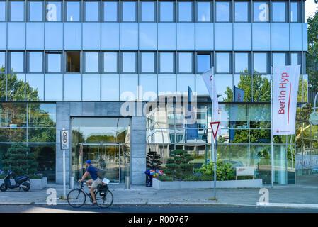 Head office Berlin Hyp, Budapest street, zoo, middle, Berlin, Germany, Hauptsitz der Berlin Hyp, Budapester Strasse, Tiergarten, Mitte, Deutschland - Stock Photo