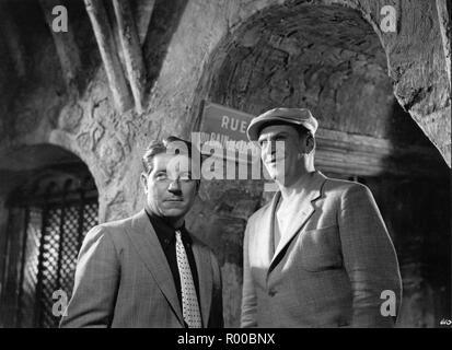 Pepe le Moko  Year: 1937 - France Jean Gabin , Gabriel Gabrio  Director: Julien Duvivier - Stock Photo