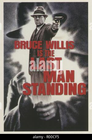Last Man Standing Year : 1996 USA Director : Walter Hill Bruce Willis Poster (USA)  New Line Cinema - Stock Photo