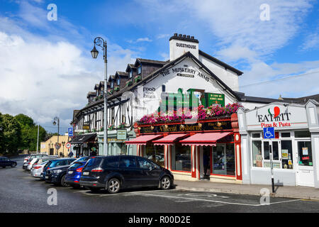 The Muskerry Arms guesthouse at Blarney Village, near Cork in County Cork, Republic of Ireland - Stock Photo