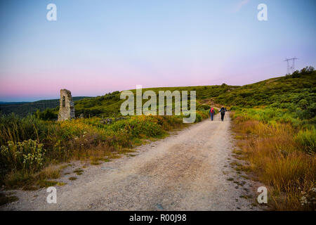 Camino de Santiago (Spain) - Along the way of St.James - Stock Photo