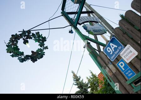 Wien, Heuriger 'Zur blauen Nase' - Stock Photo