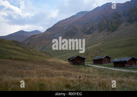 Fane Alm with Pfundigerer mountains, South Tyrol, Italy