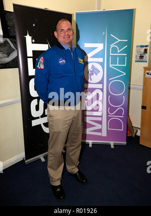 Tony Antonelli, retired NASA astronaut, at The International Space School Educational Trust's  Mission Discovery Program, Kings College, London - Stock Photo