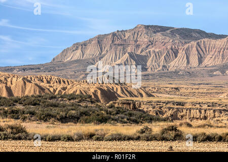 Bardenas Reales, Basque Country, Spain, Europe - Stock Photo