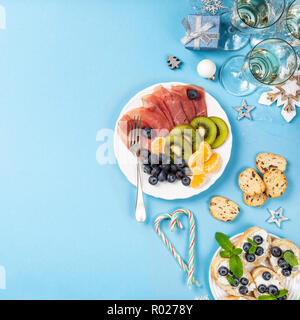 Christmas composition background - Stock Photo