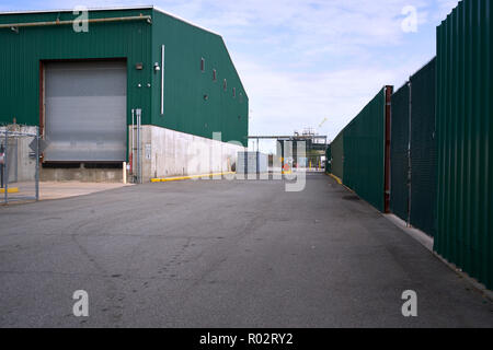 Factory building in Bushwhack, New York City - Stock Photo