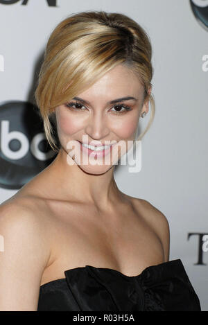 Samaire Armstrong  arriving at the tca ( television critic association ) ABC Summer party at the Beverly Hilton Hotel in Los Angeles.  headshot eye contact smile ArmstrongSamaire_364 Red Carpet Event, Vertical, USA, Film Industry, Celebrities,  Photography, Bestof, Arts Culture and Entertainment, Topix Celebrities fashion /  Vertical, Best of, Event in Hollywood Life - California,  Red Carpet and backstage, USA, Film Industry, Celebrities,  movie celebrities, TV celebrities, Music celebrities, Photography, Bestof, Arts Culture and Entertainment,  Topix, headshot, vertical, one person,, from th - Stock Photo