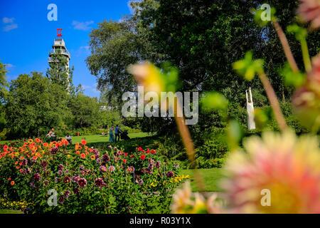 Essen, Germany, Ruhr Area, Grugapark - Stock Photo