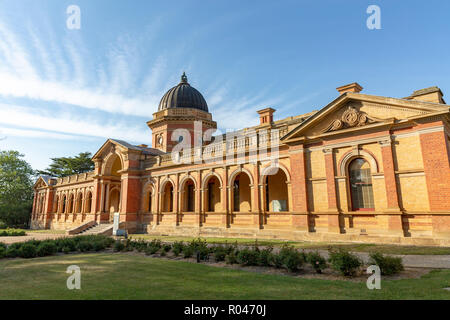 Historic court house building in the inland city of Goulburn in New South Wales,Australia - Stock Photo