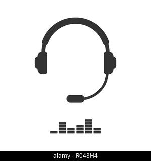 Support simple solid icon for mobile concept and web design. Pictogram isolated on white. Vector Illustration,eps 10. - Stock Photo