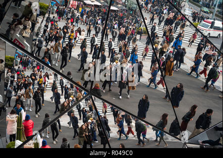 Tokyo, Japan, Tokyu Plaza Omotesando - Stock Photo