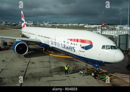 Sydney, Australia, British Airways at Sydney Airport - Stock Photo