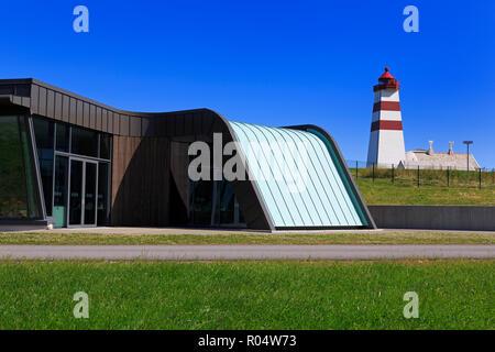 Alnes Cultural Center, Godoy Island, Alesund City, More og Romsdal County, Norway, Scandinavia, Europe - Stock Photo