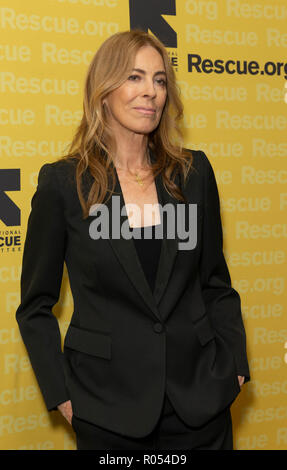 New York, USA. 1st November, 2018. New York, NY - November 1, 2018: Kathryn Bigelow attends the 2018 IRC Rescue Dinner at New York Hilton Midtown Credit: lev radin/Alamy Live News - Stock Photo