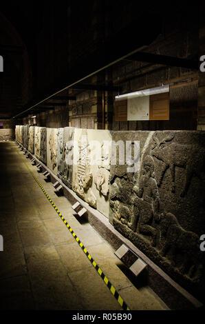 Ankara- Turkey - August 2018: Museum of Anatolian Civilizations. - Stock Photo