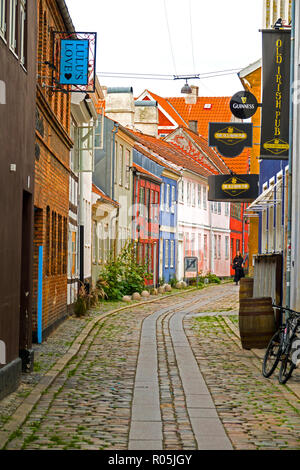 Helsingor also known as Elsinore is a port city in eastern Denmark - Stock Photo